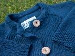 Sweterek dżinsowy granat